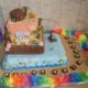 An impressive Hawaiian Luau cake – the easy way!